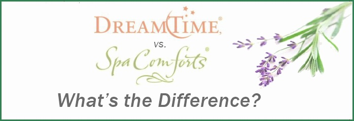 DreamTime vs. Spa Comforts: What's the Difference?