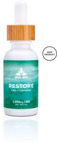 Restore: CBD + Tumeric Tincture
